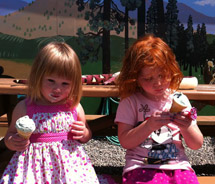 Tickleberry's Ice Cream in the Okanagan Valley