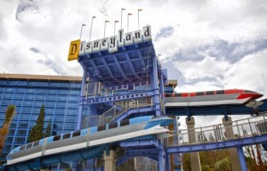Monorail Slides at Disneyland // (c) 2011 Disneyland Resort