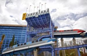 Monorail Slides at Disneyland // (c) 2011 Disneyland Resort
