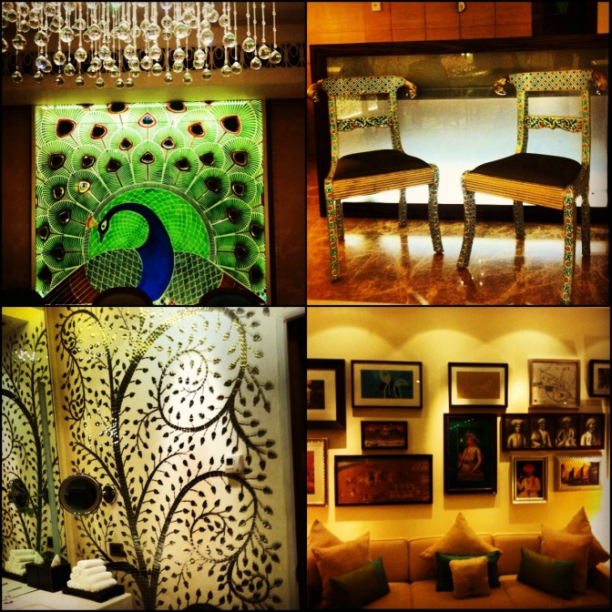 Peacock Suite at the ITC Gardenia // (C) 2012 Janeen Christoff