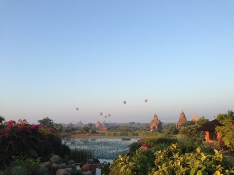 The balloons over Bagan, Myanmar were a highlight of 2012 // (c) 2012 Janeen Christoff