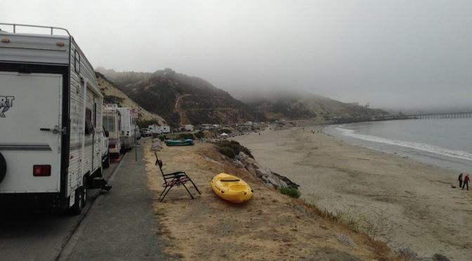 Our perfect spot in Avila Beach // (c) 2013 Janeen Christoff