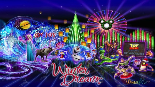 New 'World of Color – Winter Dreams' Will Debut at Disneyland in November