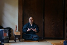 Meditation at Shinkoin Temple // (c) Janeen Christoff