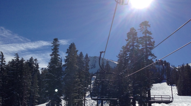 Mammoth Mountain is getting ready for the 2013/2014 winter season // (c) Janeen Christoff