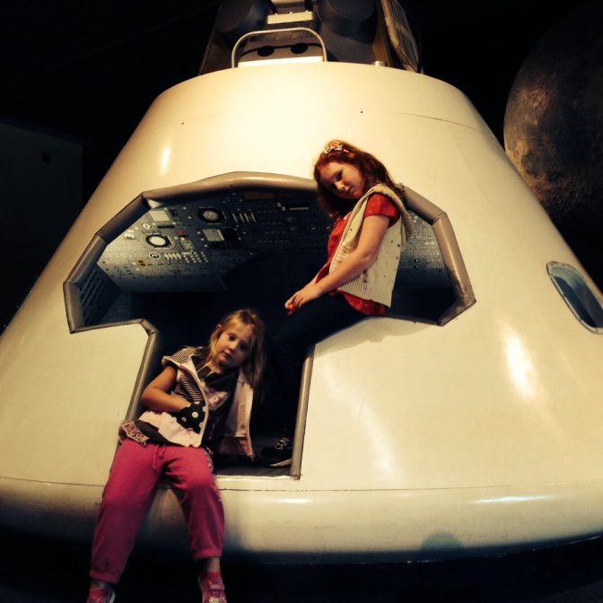 Blasting off to space // (c) 2013 Janeen Christoff