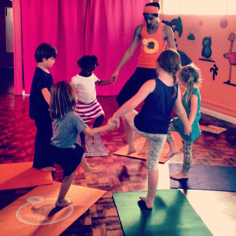 Kids' yoga  // (c) 2013 Janeen Christoff