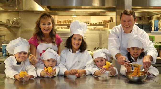 IHG Kids' Menu launch at the InterContinental Hotel, Park Lane, London. // Geoff Caddick/PA