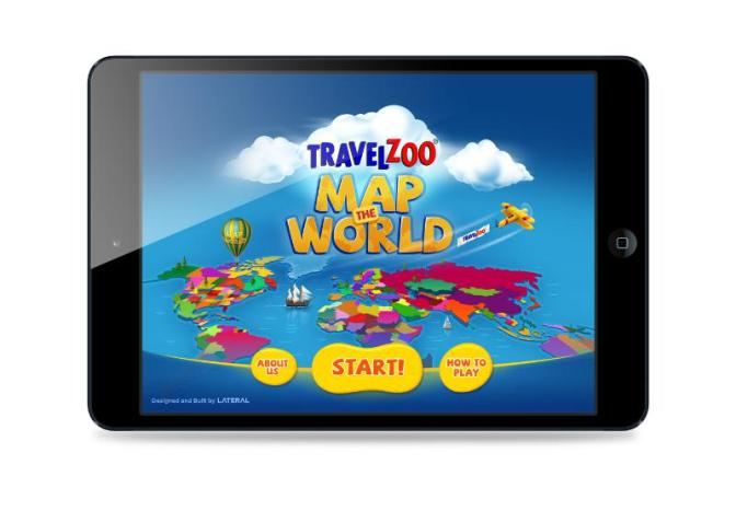 Travelzoo Launches Interactive Map App for Kids
