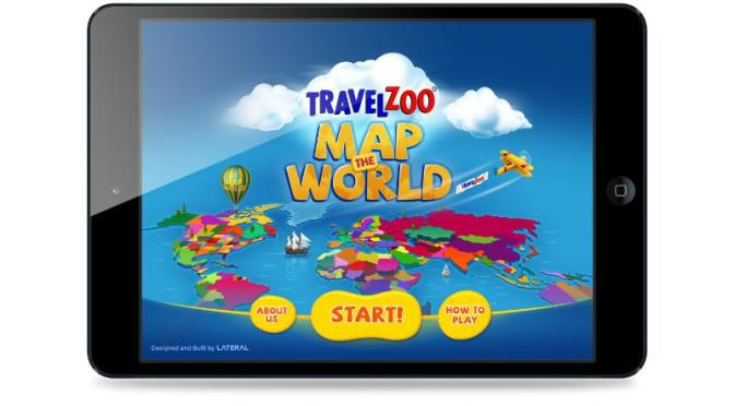 Travelzoo has launched an interactive map of the world in the iTunes store. // (c) 2013 Travelzoo