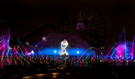 Disney World of Color Winter Dreams with Frozen's Olaf // (c) 2013 Disney