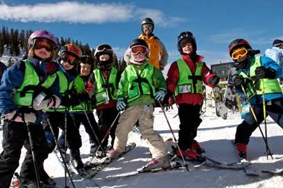 Skiing Arapahoe Basin Colorado // (c) 2013 CSCUSA