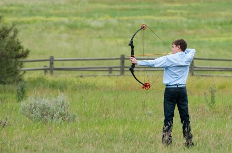 """May the """"Paws"""" be Ever in Your Favor -- Hunger Games competition entices families to visit Montana // (c) 2014 Paws Up"""