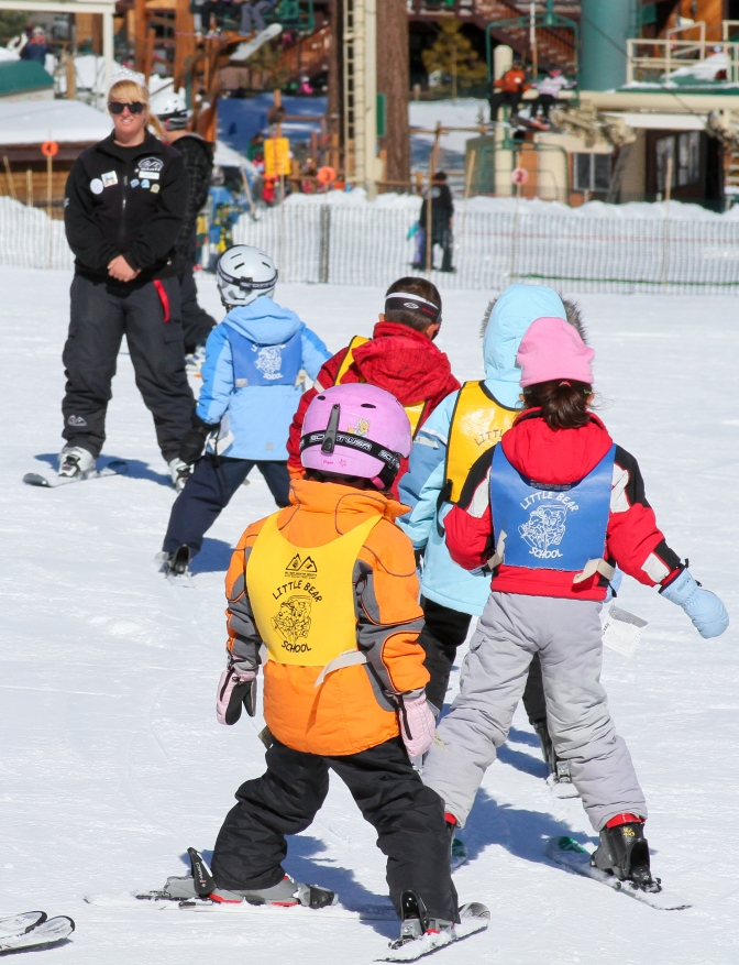 Why not learn a new sport in the New Year? // Lee Stockwell / Big Bear Mountian Resorts