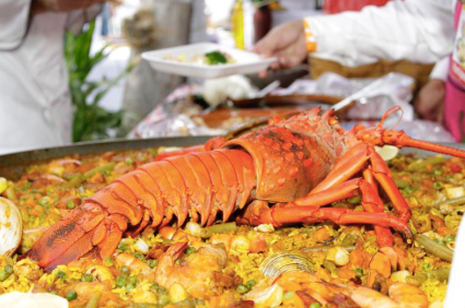 Fresh lobster  // (c) 2014 La Paz Tourism Board