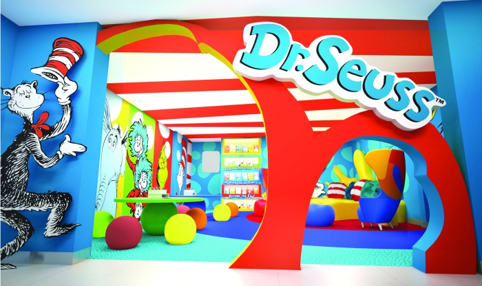 Dr. Seuss sets sail with Carnival Cruise Lines.