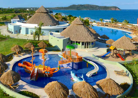 Iberostar Playa Mita Splash Park in Riviera Nayarit, Mexico
