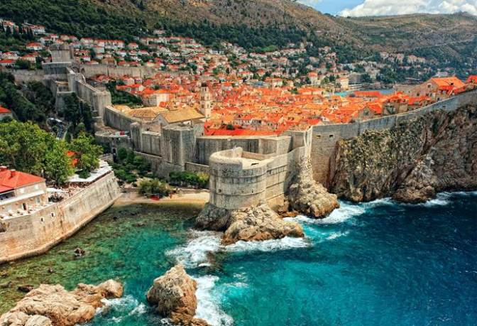 Dubrovnik is the backdrop for King's Landing.