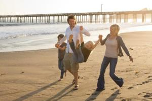 Wine Coast Country is the ideal place for families.