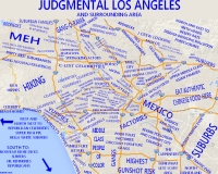 Judgemental Map of Los Angeles