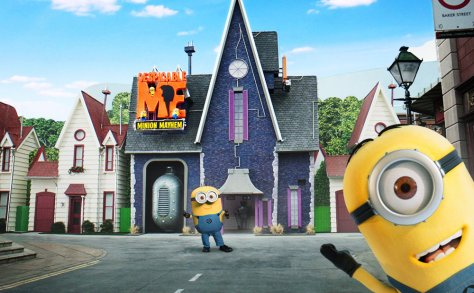 Universal Studios Hollywood - Despicable Me Ride