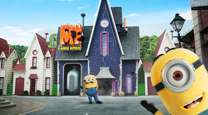 Despicable Me Ride Opens at Universal Studios Hollywood